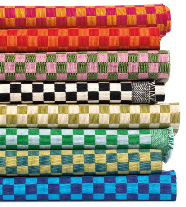 Textiles Checker Maharam Alexander Girard