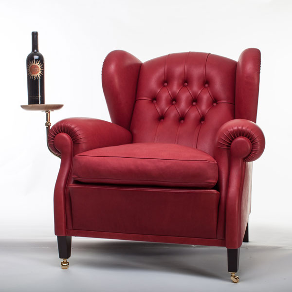Poltrona frau partners with winery to remake iconic chair for Poltrona design amazon