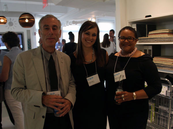 From left: Jack Weisberg, Kristen Mucci, and Jennifer Graham, all from LMNOP.