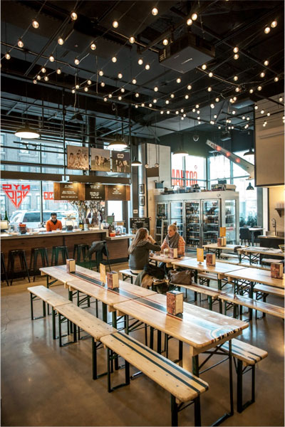Designers Dish On The Rise Of The Modern Food Hall