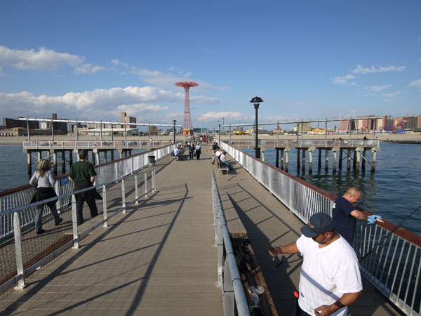 Steeplechase Pier Coney Island Elevated Platform LTL Architects