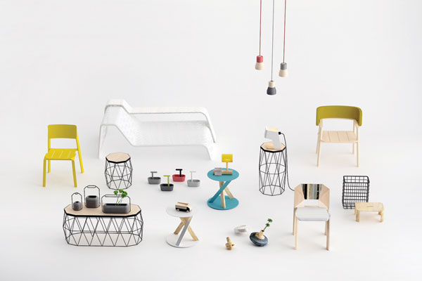 Furniture and accessories by Thinkk Studio.