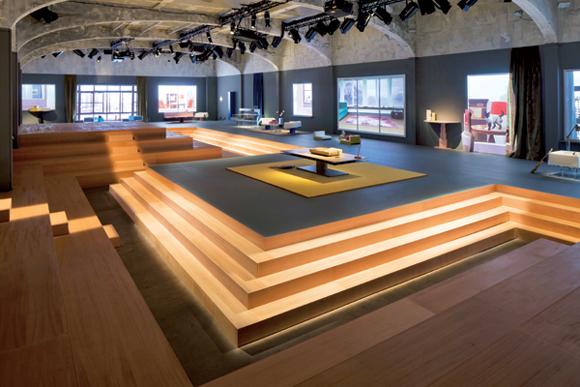 Model Home Rem Koolhaas Unveils Knoll Prototypes At Prada