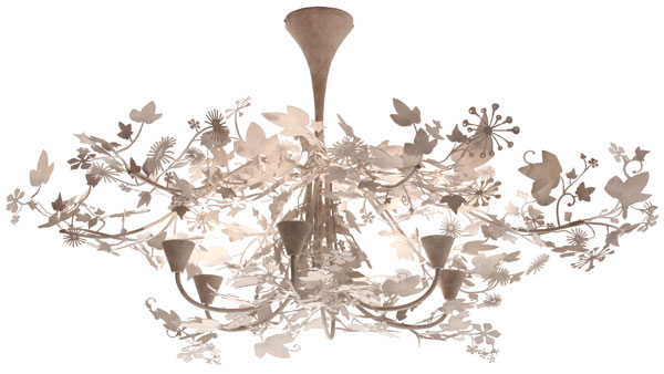 Ivy Shadow Chandelier Boontje For Moroso