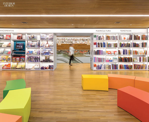 Interior Culture Bookshop Brazil Studio Mk27 0115