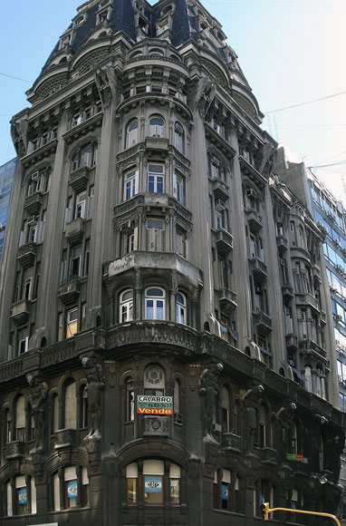 Otto Wulf Building, 1912-1914. Buenos Aires, Argentina. Architect: Morton F. Rõnnow (Danish).