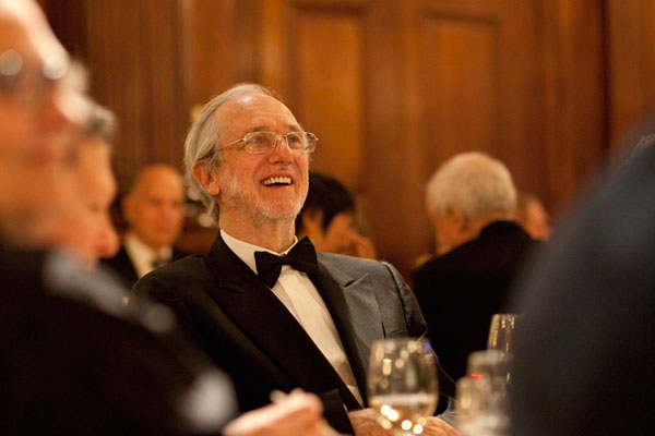 Renzo Piano, founder of Renzo Piano Building Workshop and the evening's honoree.