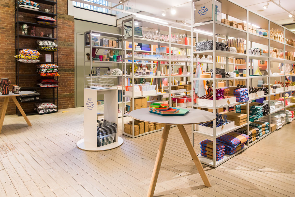 Moma store brings hay mini market to new york Hay design