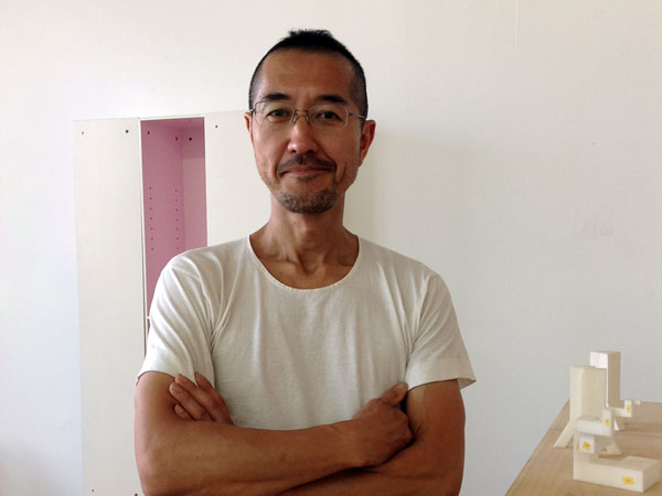 keshi Miyakwa, principal of his own art and design studio, Takeshi Miyakawa Design.