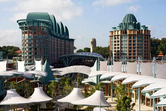 Michael Graves' Resorts World Sentosa, Singapore. 2006-2010. Photo courtesy of Michael Graves & Associates.