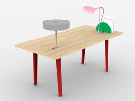 offset desk