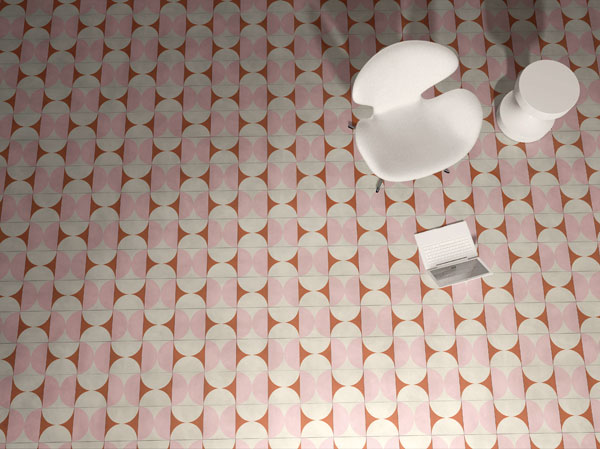Bisazza Goes Pop with New Cement Tile by India Mahdavi