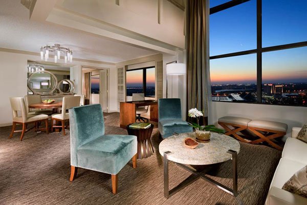 Presidential Suite at the Peabody Orlando hotel. Photo courtesy of the Peabody Orlando.