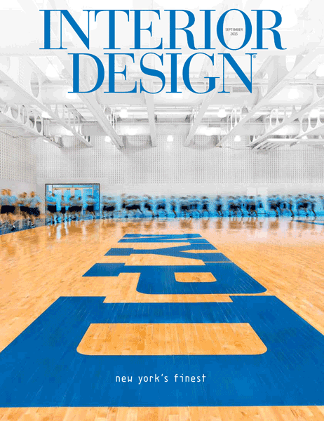 Interior Design September 2015 Cover