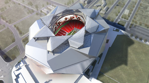 New Atlanta Stadium HOK