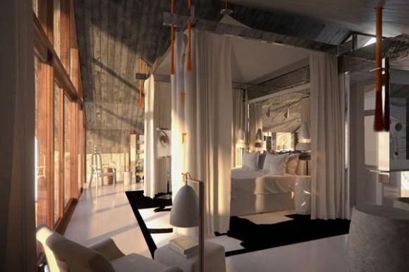 Philippe starck masterminds bali hotel for 2014 for Bali interior design
