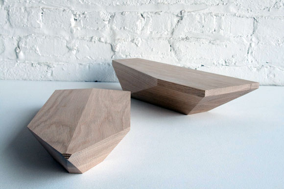 """Dan Michalik of DMFD will present a series of boats made from reclaimed white oak in a piece named """"The Advantage Goes To Those That Float."""""""