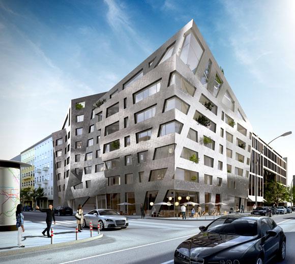 Daniel Libeskind Chaus Penthouses Berlin