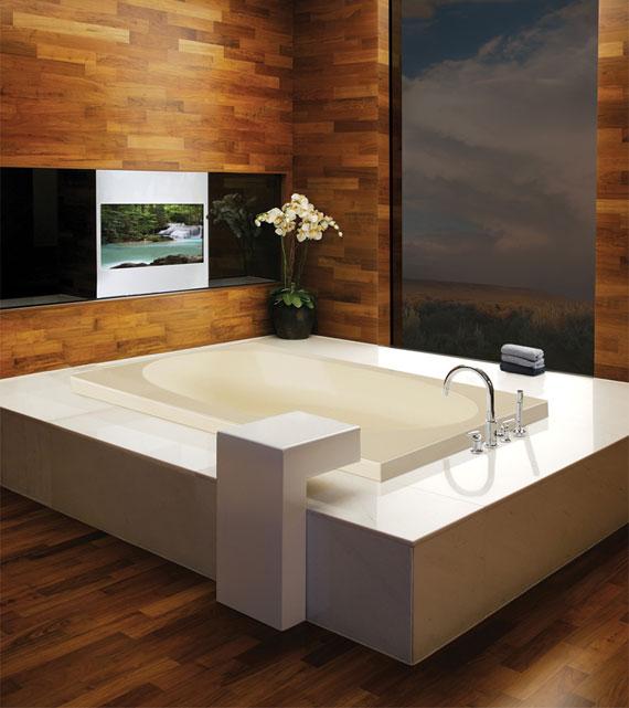 Akana drop-in tub