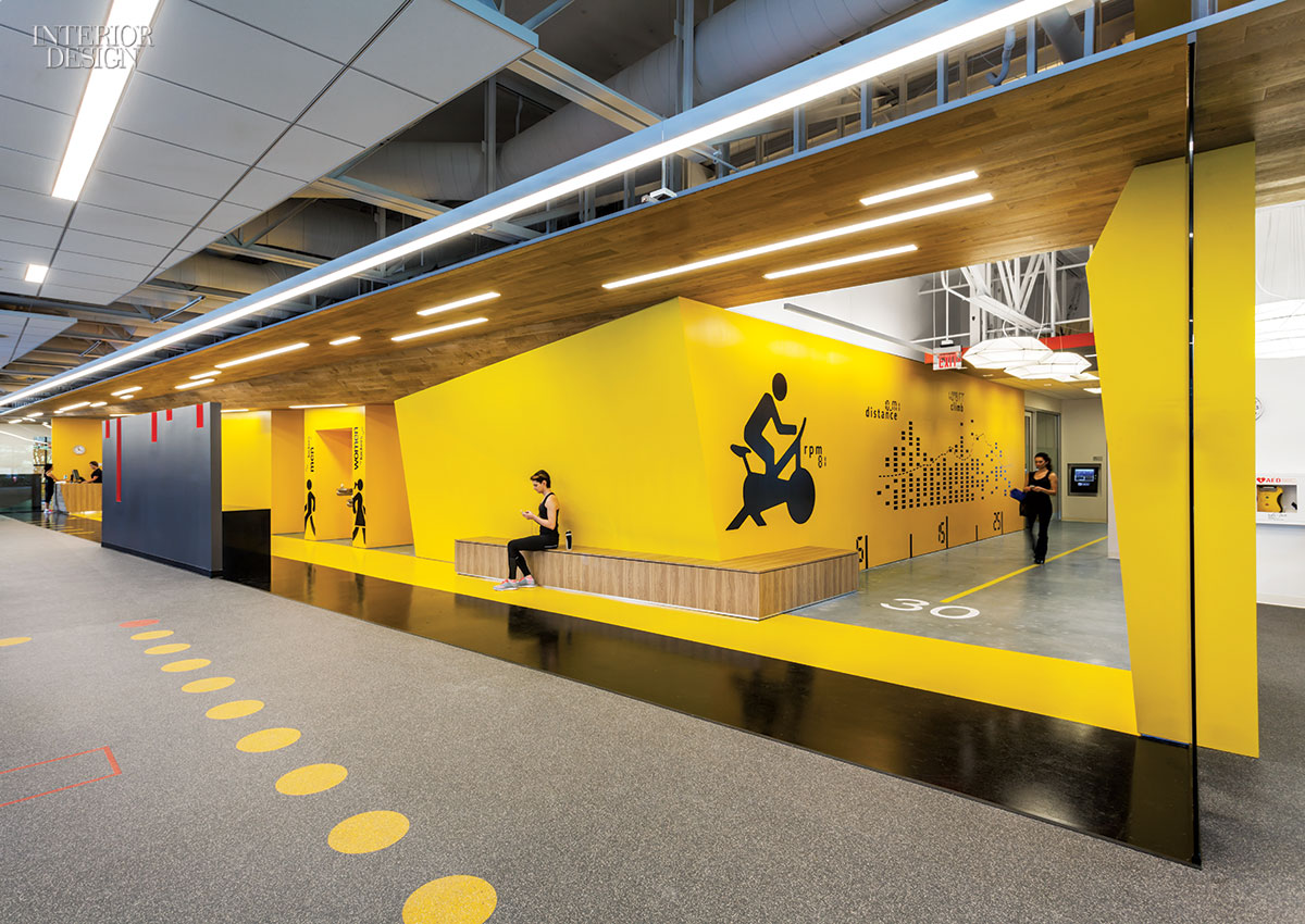 Gensler San Jose S Fitness Center For Symantec