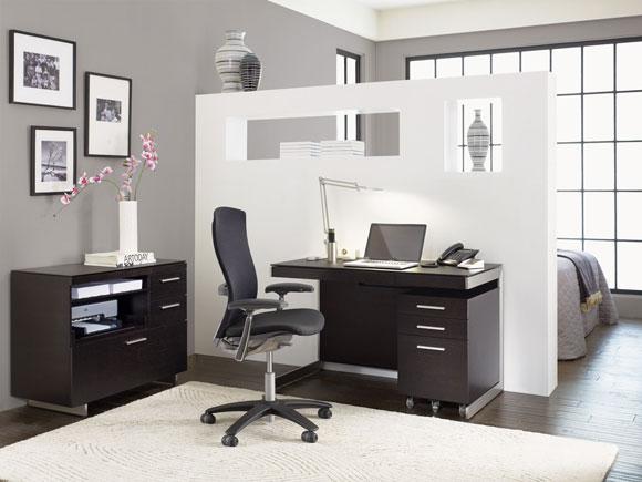 BDI Sequel Espresso Lifestyle Compact Desk