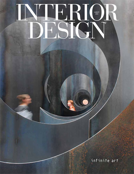 Interior Design July 2015 Cover ID August