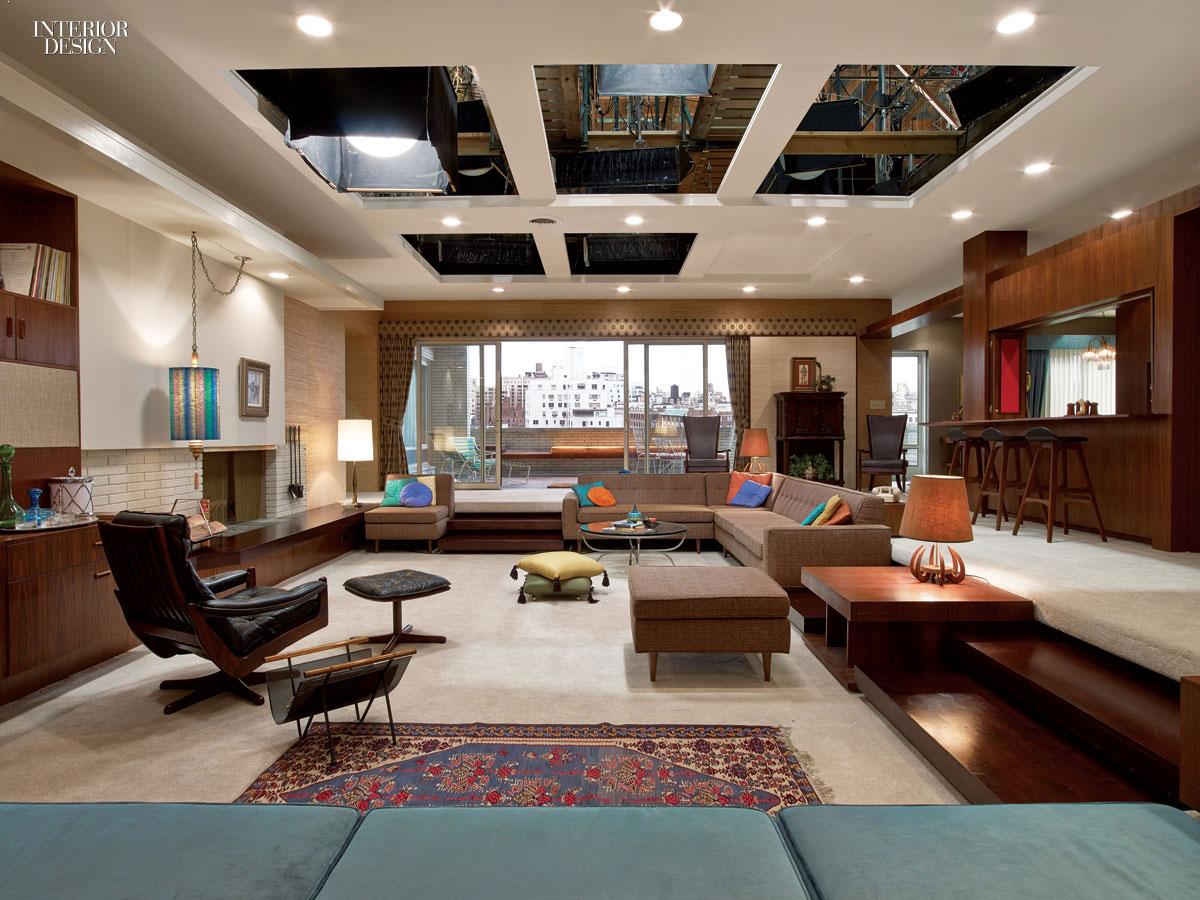 Movie set interior design