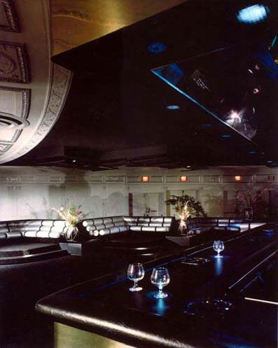 The bar at Studio 54.