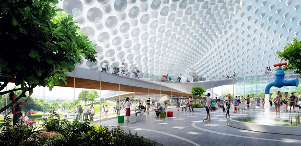 landing Charleston Heatherwick Studio Bjarke Ingels Group