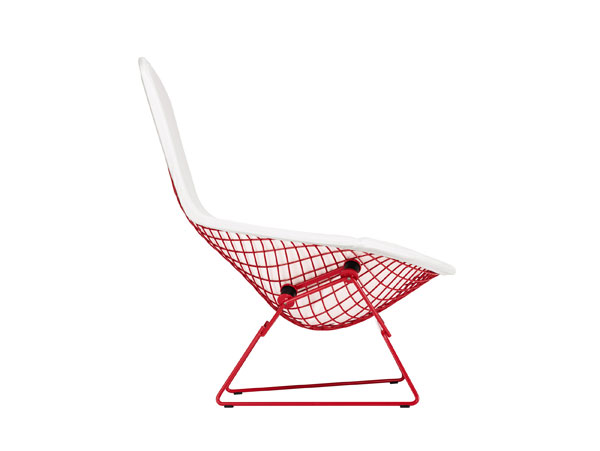 130819RD Knoll Chair 110 Red