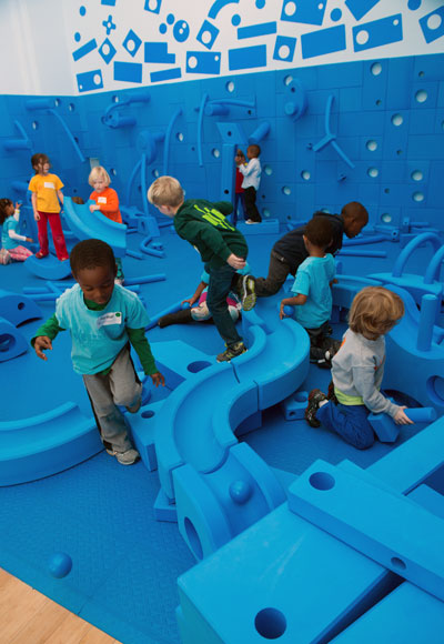 "The National Building Museum's ""Play Work Build"" exhibition. Photo by Kevin Allen."