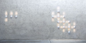 Ron Gilad's Light Spring LED sconces