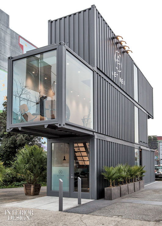 The container store aether clothing fills proxy by for Exterior standalone retail