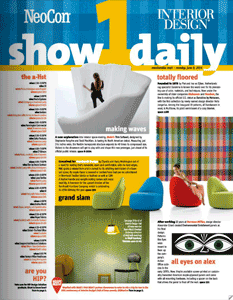 NeoCon Show Daily Submissions 2015