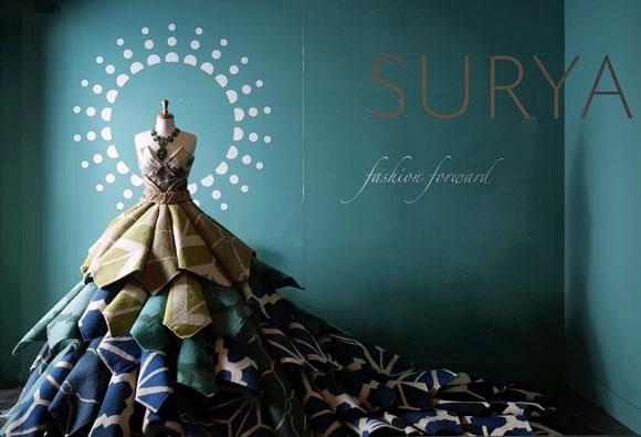 Surya won the first-ever Fashion Focus Award.