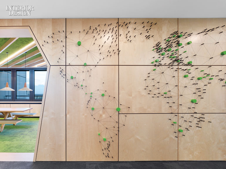 Architects Channel Vibrant City Parks To Create The Perfect Indoor Work Environment