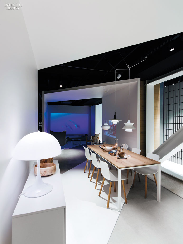 Id Designs Tokyo Pop Up Showcasing Sonys Life Space UX Projection TVs And Speakers