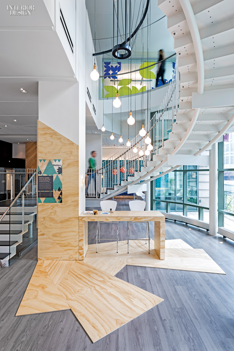 Kimball office at neocon 2015 boy winner for showroom for Interior design chicago