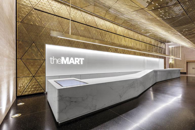 #IDneocon: A+I Unveils $40 Million Merchandise Mart Facelift