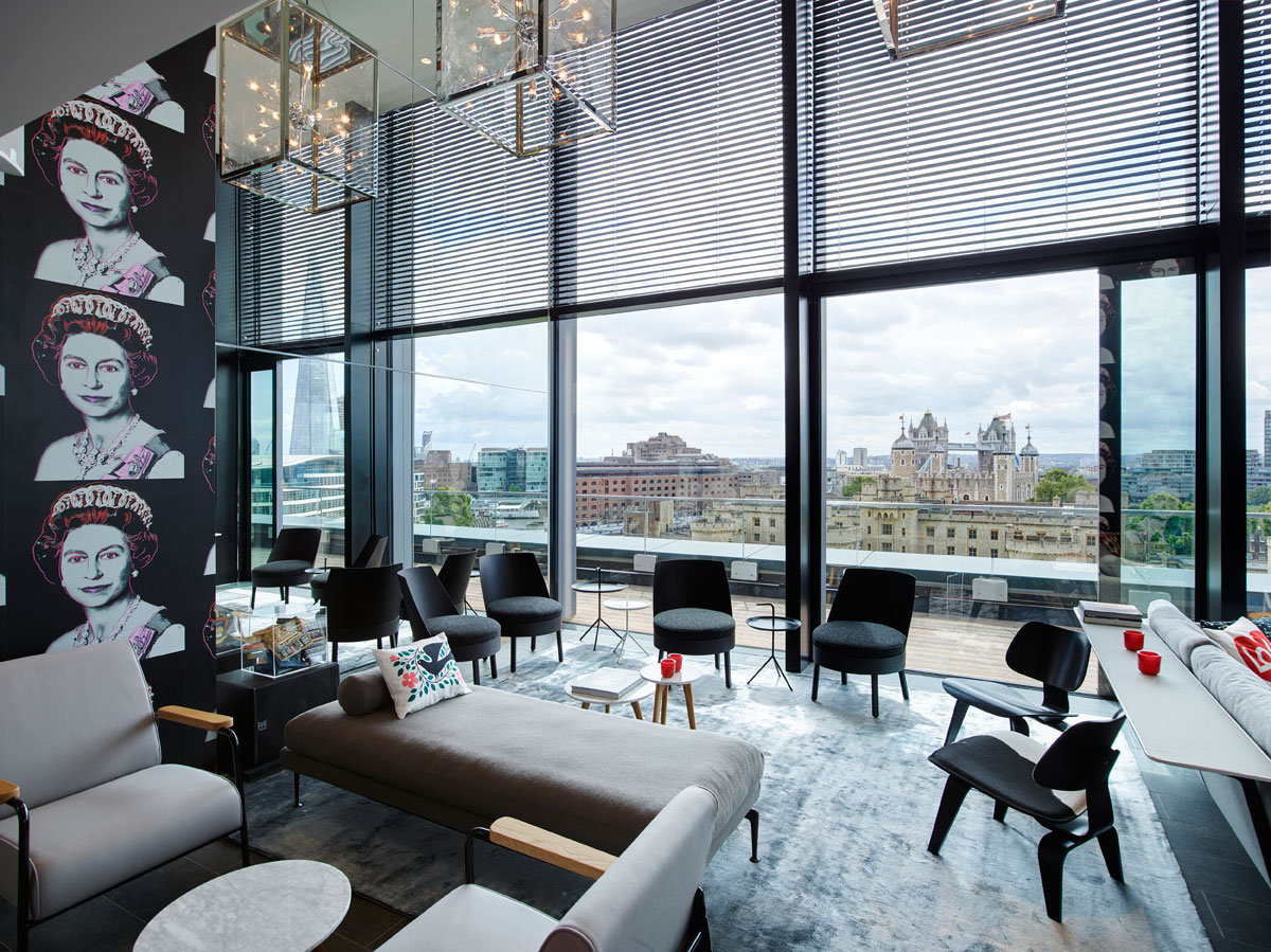 dutch firm concrete designs the new citizenm tower of london