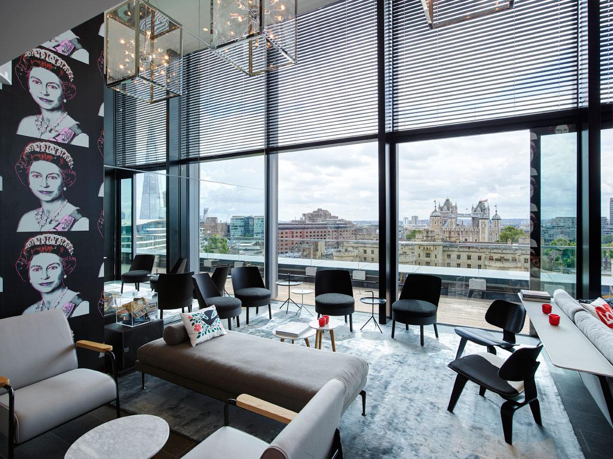 Dutch firm concrete designs the new citizenm tower of london - Design hotel citizenm london ...