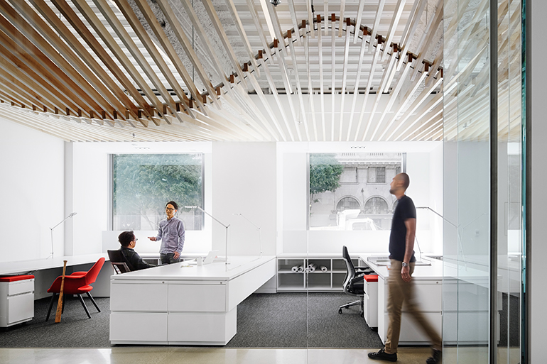 Turelk 39 S Los Angeles Office By Gensler Promotes Its Hands On Approach To Its Work